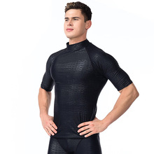 Swimsuit Shorts Pants Diving-Clothes Surfing Sharkskin Beach XL Black Summer Long UV