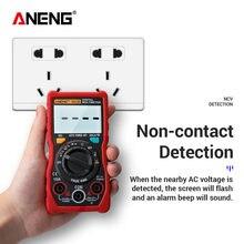 ANENG V01B 4000 conteggi multimetro professionale digitale AC/DC Tester elettrico automobilistico capacità Transistor Ampere Detector