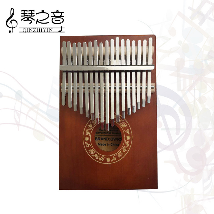 Thumb Piano Music ENLIGHTEN 17 Sound Finger Piano Children Plucked Instruments Kindergarten Educational Toy Finger Piano