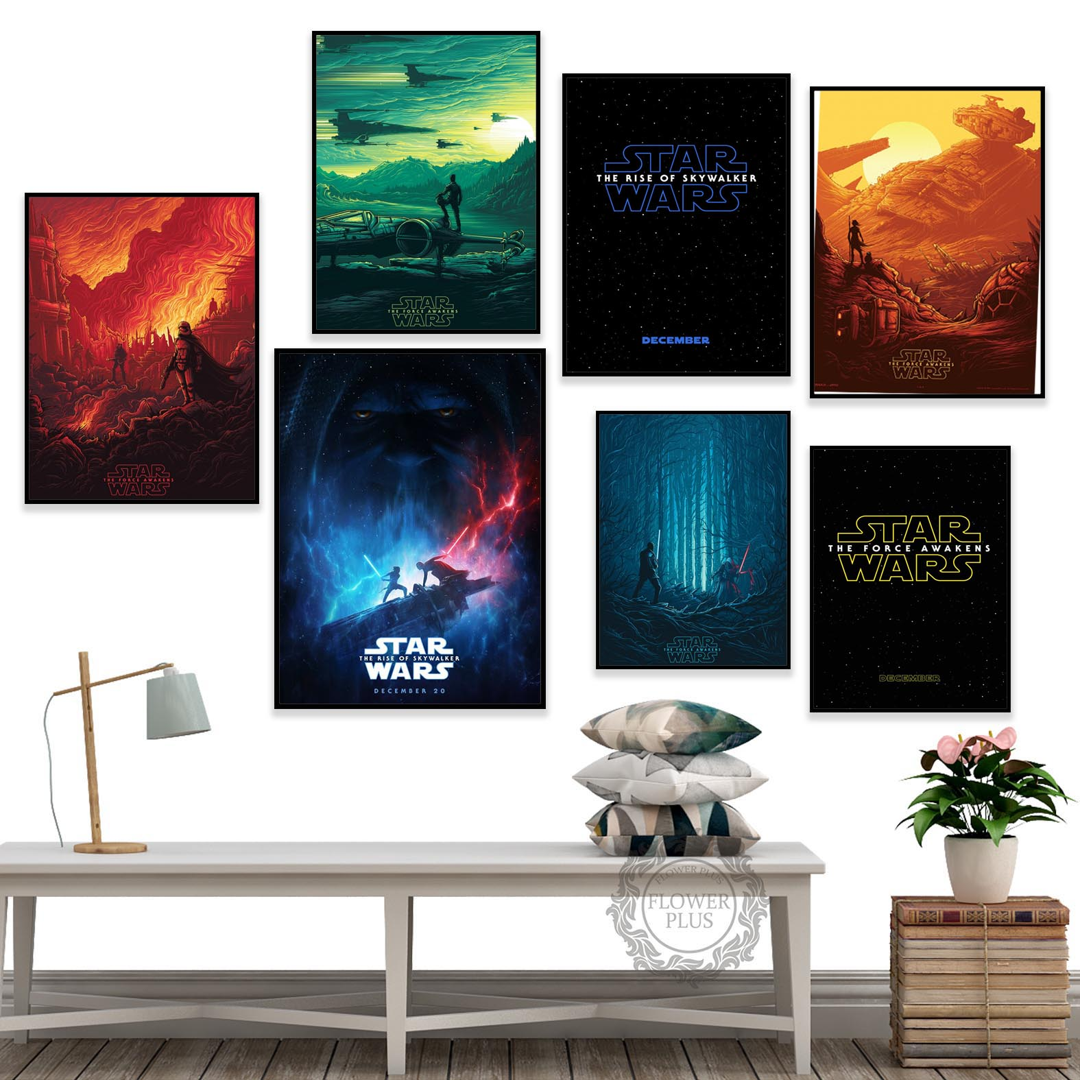Star Wars Classic Movie Posters Canvas Paintings Gift Boy Wall Pictures Prints Art for Kids Living Room Home Decor obrazy plakat image
