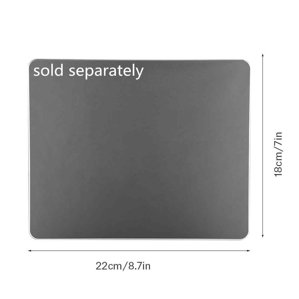 2.4G mince optique sans fil clavier et souris Ultra-mince souris USB récepteur Combo Kit pour MAC PC ordinateur avec tapis de souris 2 couleurs