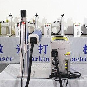 Image 2 - 30W bölünmüş fiber lazer işaretleme makinesi metal işaretleme makinesi lazer gravür makinesi tabela lazer markalama mach paslanmaz çelik