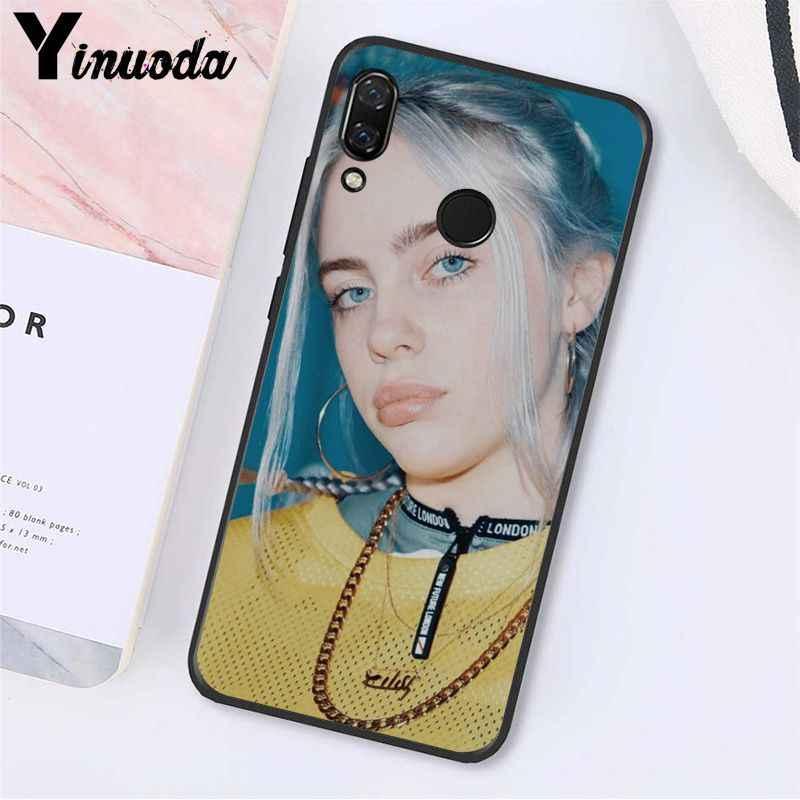 Yinuoda Billie Eilish 13 Gadis Phone Case untuk Xiaomi Redmi Note 7 5 4 Redmi 5 Plus 6A Note4 4X a2 A2lite