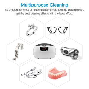 Image 4 - SKYMEN ultrasonik temizleyici 600ml 35W 40kHz ultrasonik çamaşır para paraları takı pedikür tırnak sanat araçları temizleyici