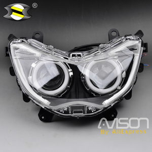 Image 2 - For  NMAX 155 NMAX155  2016 2017 2018 Modified Motorcycle Parts Nmax HID Head Light Headlamp Front Lamps