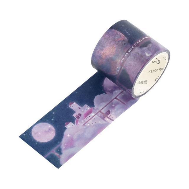 Mr.paper 4 dessins 30mm x 3m Washi ruban adhésif décoratif TapeMr.p Scrapbooking décor papeterie masquage pour autocollants bricolage H6Q3