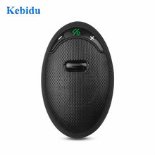 KEBIDU coche Bluetooth V5.0 receptor Auto inalámbrico Speakerphone Carkit parasol Altavoz Bluetooth coche Kit manos libres(China)
