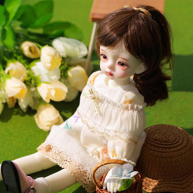 Shuga Fairy SMILE Sooตุ๊กตาBJD 1/6 ตุ๊กตาBJDชุดJointedตุ๊กตาMake upแฟชั่นตุ๊กตาวันเกิดของขวัญ