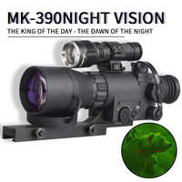 MK-390 FMC Full HD Lens Range Thermal imager Hunting Wildlife Surveillance Scouting Sight hunting scopes night vision riflescope