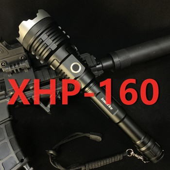 XHP160 most Powerful Flashlight Camping light Zoomable 21700 rechargeable lantern  flash light  torch  led hunting 100000 lumen 2