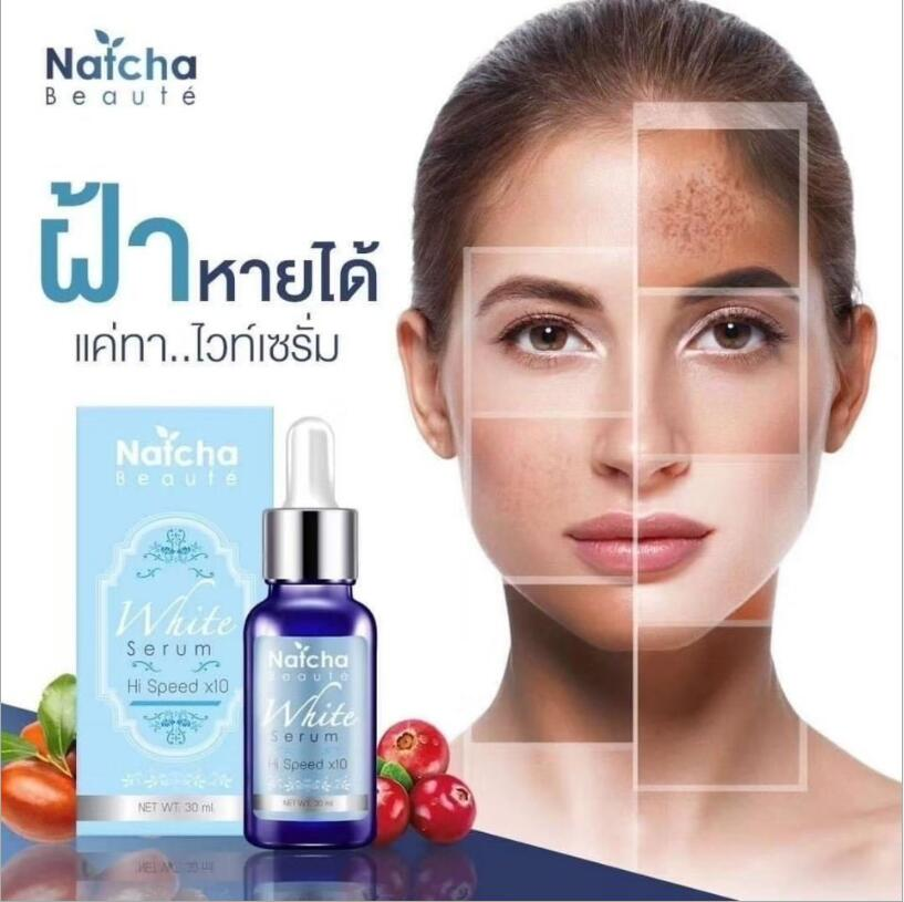 30ml Natcha Fleck whitening essence reduces pores and brightens complexion