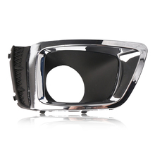 57731SG080 Car Right Fog Light Lamp Cover Bezel w/ Chrome Trim fit for Subaru Forester 2.0XT 2014 2015 Accessories