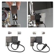 Válvula de solenoide co2 dc 12v saída aquário co2 sistema regulador elétrico baixa temperatura magnética para aquário tanque peixes