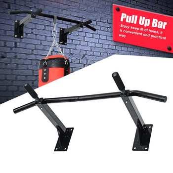 Zware Pull Up Bar Wandmontage Kin Up Bar Voor Home Gym Fitness Oefening Versterken Schouders Terug Armen Abs