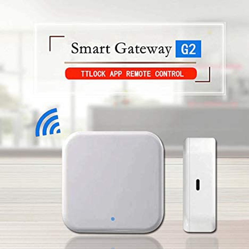 Bluetooth Wifi Gateway Fingerprint Passwordsmart door lock Home Bridge Ttlock App Control Gateway Hub electric lock Waterproof