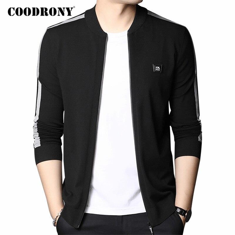 COODRONY Cardigan Men Streetwear Fashion Coat Cardigans 2020 Autumn Winter New Arrival Soft Warm Knitwear Sweater Men Wear C1116