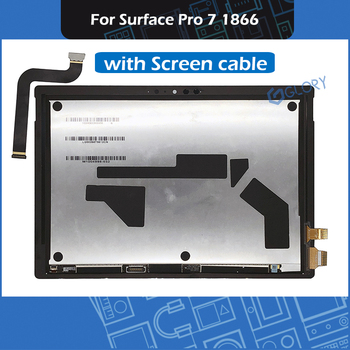 Full LCD Assembly M1004998-032 For Microsoft Surface Pro 7 1866 LCD Display Touch Screen Digitizer Assembly