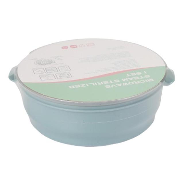 Stérilisateur biberon micro onde boite de stérilisation biberon stérilisateur vapeur vaisselle haute température boite de rangement