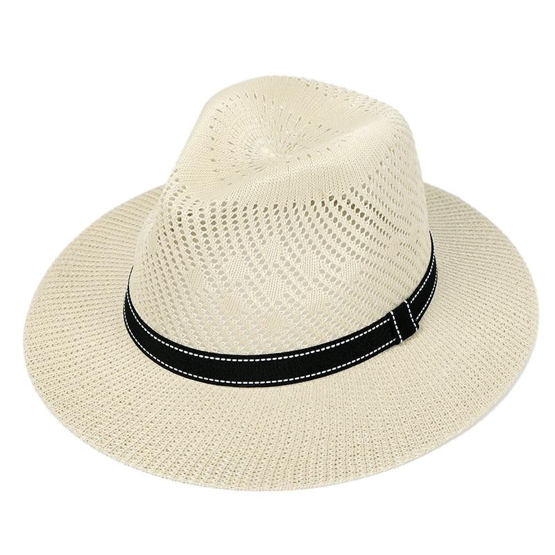 Straw Hat Women Summer Hat Sun Casual Breathable Toilet Paper Sun Hats For Women Khaki Ladies Beach Hat Straw 2020