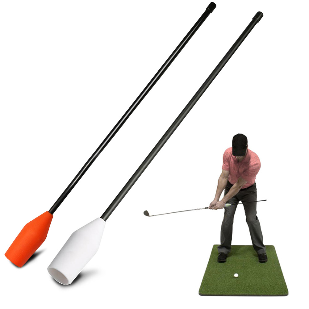 Correction Aids Guide Gesture Alignment Hand Grip Outdoor Practice Beginner 49.4 Cm Portable Sports Golf Swing Trainer Equipment