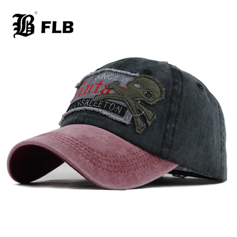[FLB] Bone Men Baseball Cap Women Snapback Caps Hats For Men Trucker Vintage Embroidery Casquette Dad Baseball Hat Cap F399