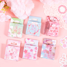 Mo.Card Meet In Spring Mini Paper Diary Sticker Scrapbooking Decoration Label Retail