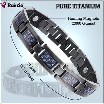 Bio Energy Titanium Bracelet Bangle Magnetic Health Care Relief The Pain  1
