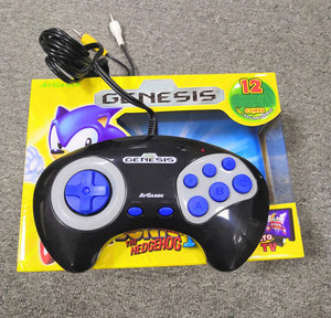 Cheap Wired Controller TV Video Gamepad Built in 12 Games For sega