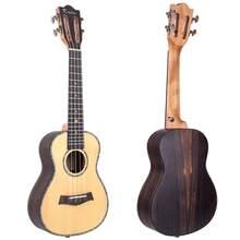 Kmise концертная Классическая укулеле твердая ель палисандр 23 Гавайская гитара