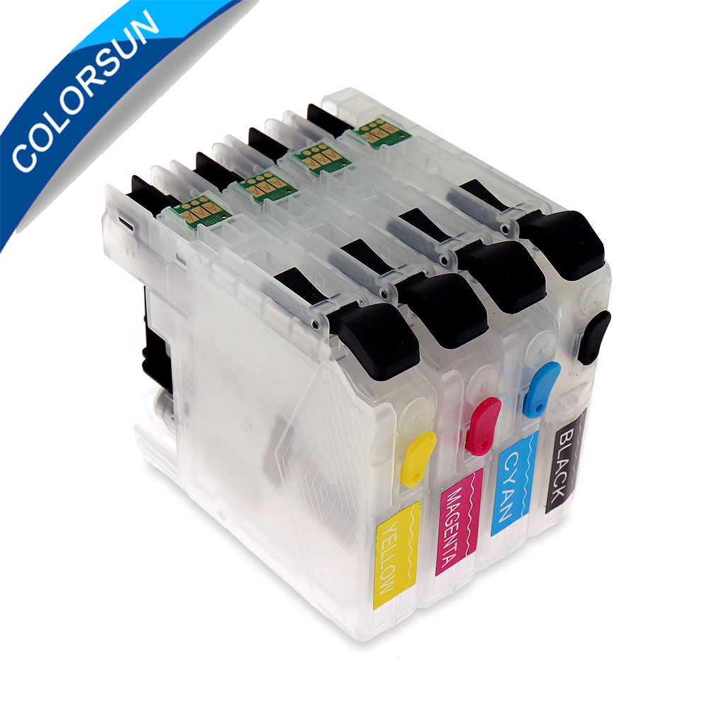 LC103 LC105 LC107 refillable ink cartridge for brother MFC- J4310DW J4410DW J4510DW J4610DW J4710DW J6520DW J6720DW J6920DW
