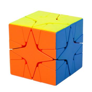 MoYu Meilong Polaris Cube Stickerless Mofangjiaoshi magiczne Puzzle Cube Cubing Classroom edukacyjne MoYu Polaris kwadratowa zabawka tanie i dobre opinie 57mm Gifts Toys Games Competition Education 5-7 lat CN (pochodzenie) Mini Z tworzywa sztucznego Choking Hazard - Children Under 3