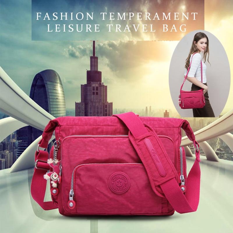 Kipled Original Women's Casual Messenger Bag Nylon Shoulder Bag Ladies Bolsa Feminina Travel Bag Messenger Bag Unisex Bag