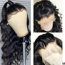 13x4 Lace Front Human Hair Wigs Pre Plucked 150% Brazilian Body Wave Remy 360 Lace Frontal Wig 4x4 Lace Closure Wig