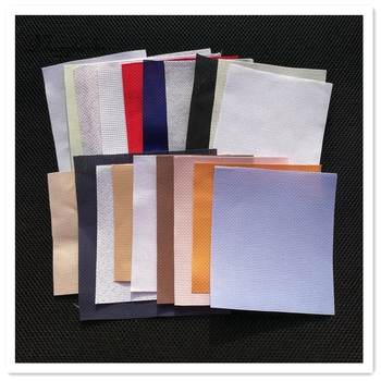 6 sztuk partia większy niż 10x10cm losowe liczba kolor rozmiar Aida tkaniny ściegu tkaniny płótno DIY handmade sew #8230 tanie i dobre opinie Dreampattern Stałe Kanwa Obrazy Składane 100 COTTON Duszpasterska Plastic bag