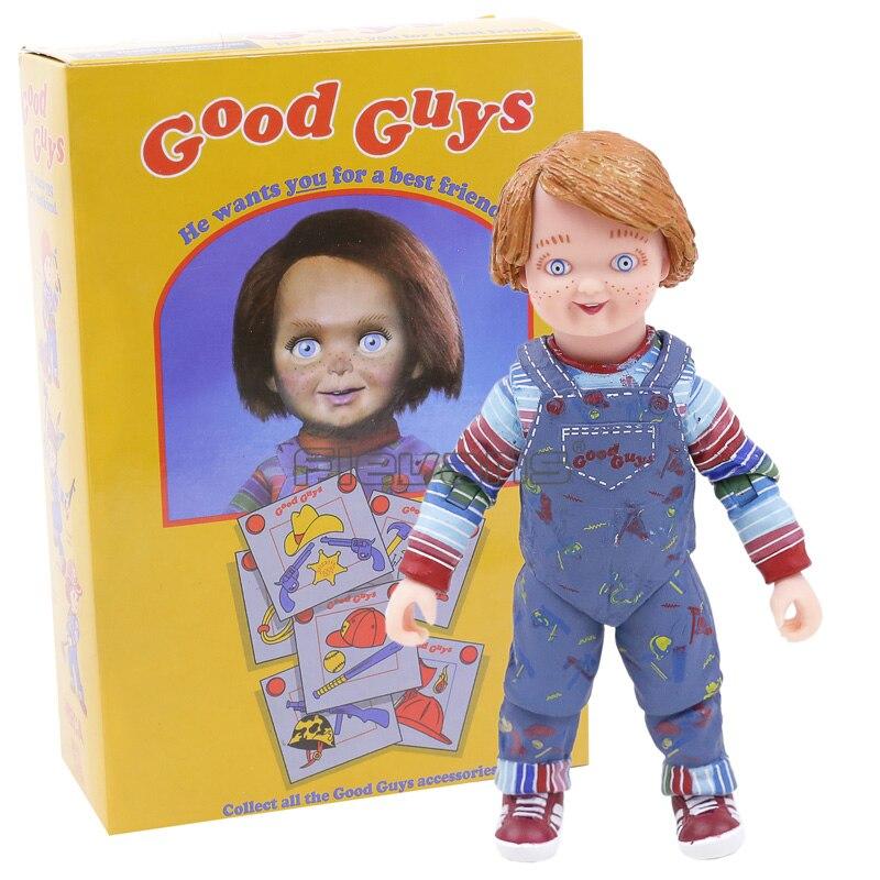 NECA детские игры хорошие парни Ultimate Чаки ПВХ экшн-фигурка Коллекционная модель игрушка 4
