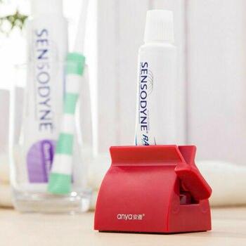 Новинка 2020, модный многофункциональный выдавливатель для зубной пасты на роликах, пластиковый выдавливатель для зубной пасты, Легкий Диспенсер, подставка для держателя сиденья