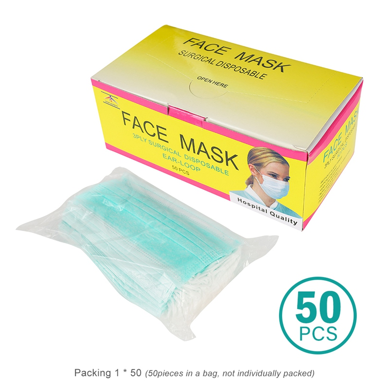 surgical mask individually packing