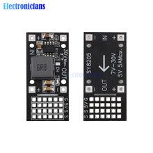 DC 7V-30V do 5V MP2482 SY8205 moduł obniżający serwo sterownik mocy 6 kanałowy moduł zasilania dla Arduino Raspberry Pi