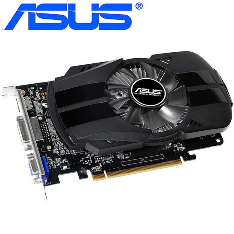 ASUS Graphics Card Original GTX 750 1GB 128Bit GDDR5  Video Cards for nVIDIA Geforce GTX750 Dvi Used VGA Card stronger than 650|Graphics Cards| |  - title=