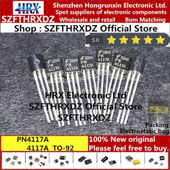 100 nowy oryginalny PN4117A TO-92 4117A TO92 JFET JFET n-kanałowy-40V 50mA 300mW 2mW (10 sztuk-20 sztuk-50 sztuk) tanie i dobre opinie SZFTHRXDZ