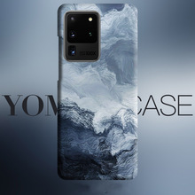 Abstract wave Sea Art flows case For Samsung Galaxy S20 Plus S10 Plus S10e Note 10 Plus Note 9 cover case Skin texture