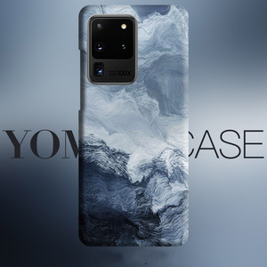 Image 1 - Abstract wave Sea Art flows case For Samsung Galaxy S20 Plus S10 Plus S10e Note 10 Plus Note 9 cover case Skin texture