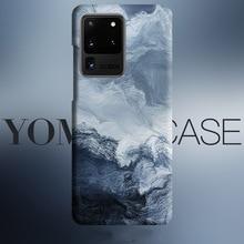 Abstrakcyjna fala morze sztuki płynie skrzynka dla Samsung Galaxy S20 Plus S10 Plus S10e uwaga 10 Plus uwaga 9 okładka skrzynki tekstury skóry