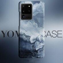Mare onda astratta di Arte scorre Per Il caso di Samsung Galaxy S20 Più S10 Più S10e Nota 10 Più Nota 9 copertura caso texture Della Pelle