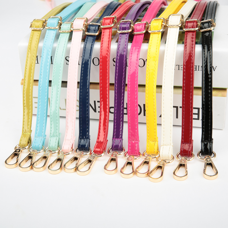 4 Metal Colors! 3 Sizes! Adjustable Replacement Shoulder Strap Patent Pu Leather Bag Straps For Purses Handbags Bags Diy Belts