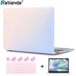 Rainbow Gradient Matte Hard Sleeve Case Cover for MacBook Air 11