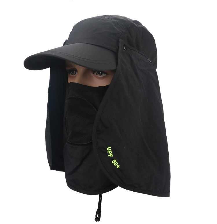 จัดส่งฟรี,หมวก mens หมวกผู้หญิงหมวก Sun. ฤดูร้อนกว้าง brim หมวกหมวก Visor,camping,หมวก,หลายฟังก์ชั่น Snapback