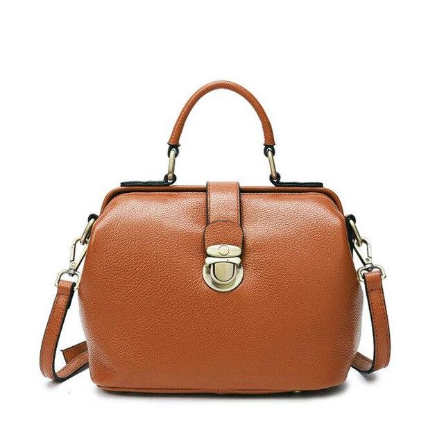 Sac à bandoulière Femme bandoulière Portable Sac à bandoulière Femme en cuir véritable sacs à Main Femme Bolsos Mujer Sac à Main Femme