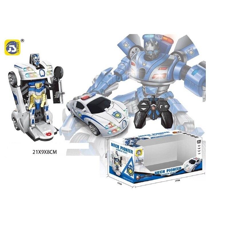 1-3 Days Delivery Car Radio Control Robot Transformers Toy Boys Boy 2019