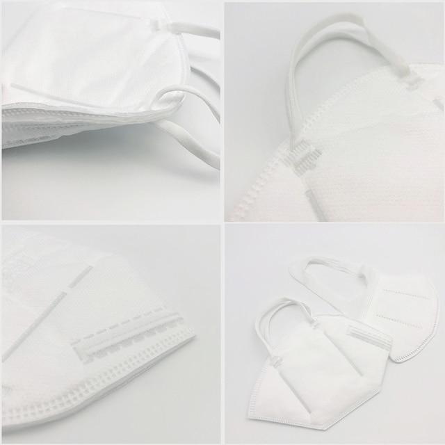 10pcs/20pcs Face Mask 5 Layers Anti PM2.5 Safety Dustproof Mask Breathable Face Mask Fast Ship 2